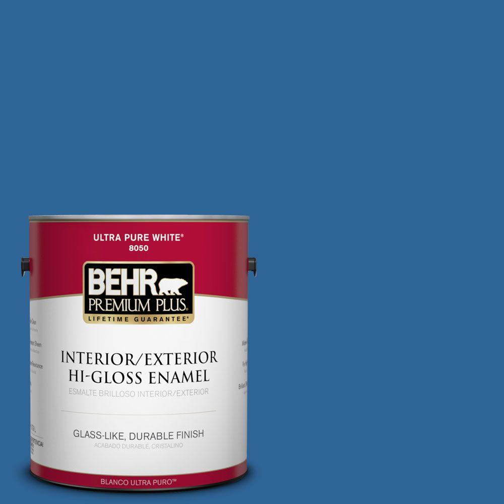 1-gal. #580B-7 American Anthem Hi-Gloss Enamel Interior/Exterior Paint