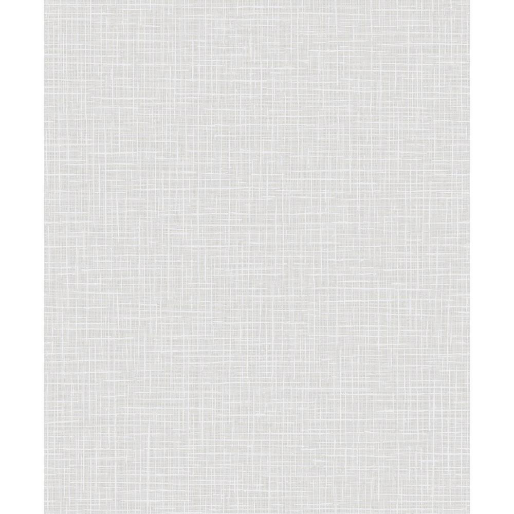 Seabrook Designs Glisten Metallic Gold and Off-White Weave Wallpaper AW71803