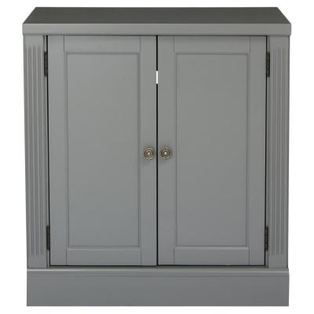 Edinburgh Grey Storage Cabinet