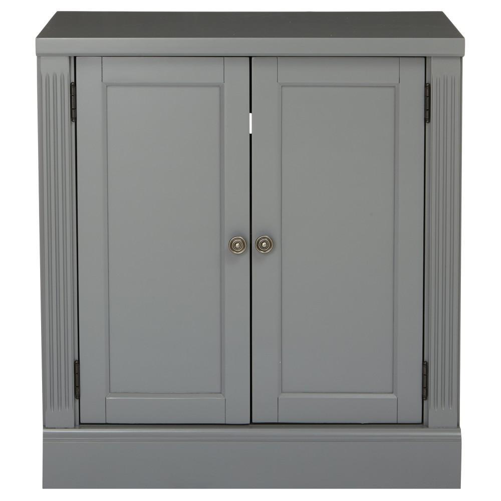 Edinburgh Grey Storage Cabinet 6335-881