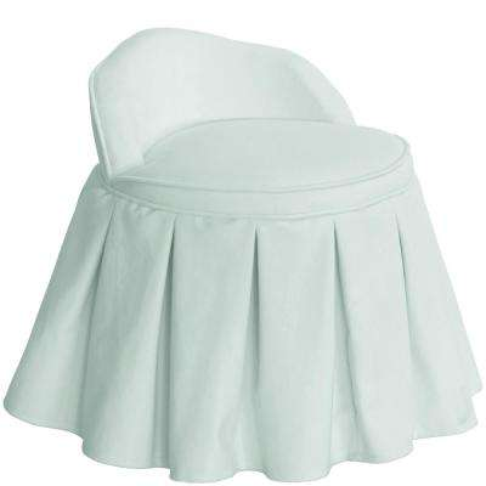 Velvet Pool Kid's Vanity Chair