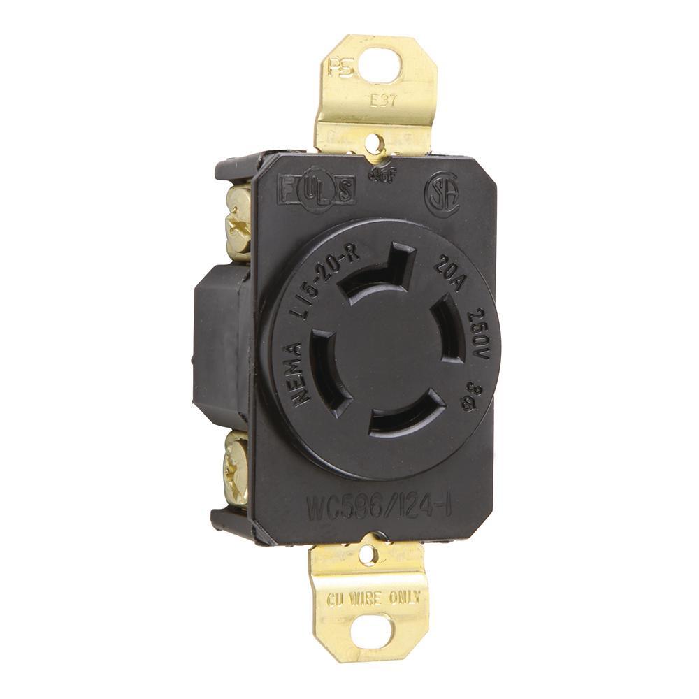 20 amp 250 volt duplex receptacle | Electrical Supplies | Compare ...