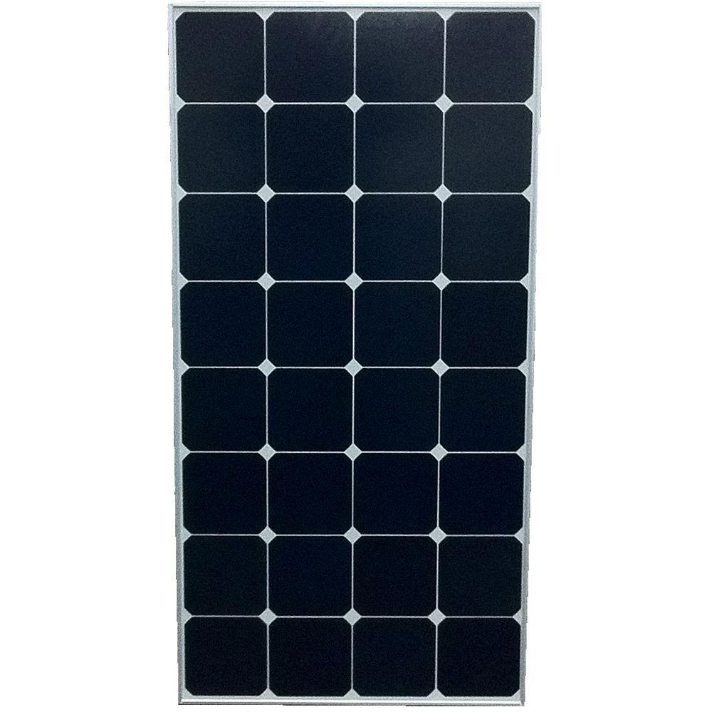 Grape Solar 100-Watt Monocrystalline High Efficiency PV Solar Panel with Black Frame for RV's and Off-Grid Systems-DISCONTINUED