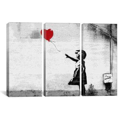 Girl with a Balloon by Banksy Canvas Wall Art