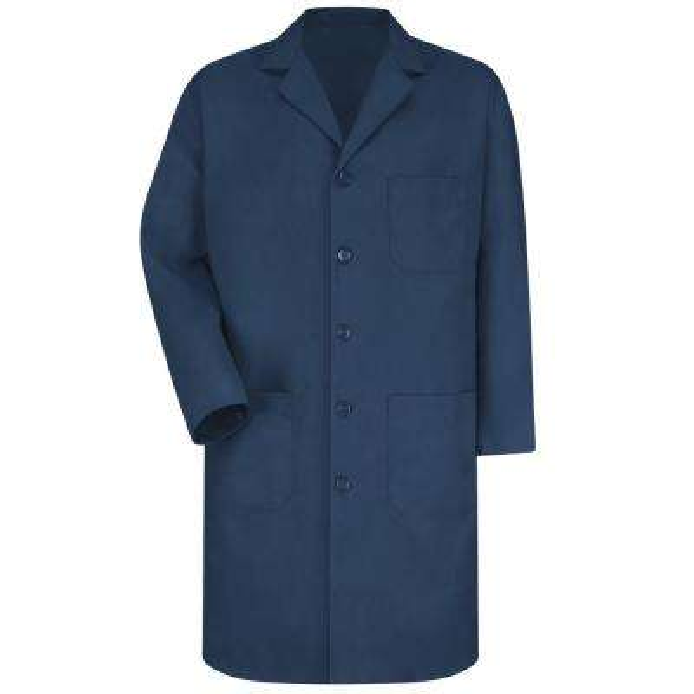 Men's Size 42 Navy Lab Coat