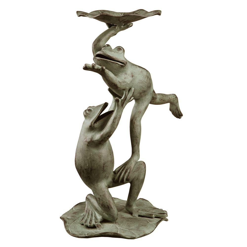 SPI Ballet Frogs Bird Feeder and Birdbath
