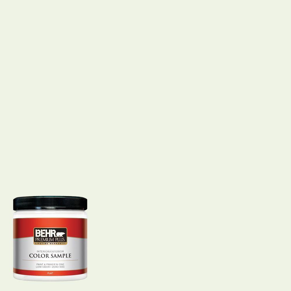 8 oz. #PPL-37 Aspen Whisper Zero VOC Interior/Exterior Paint Sample