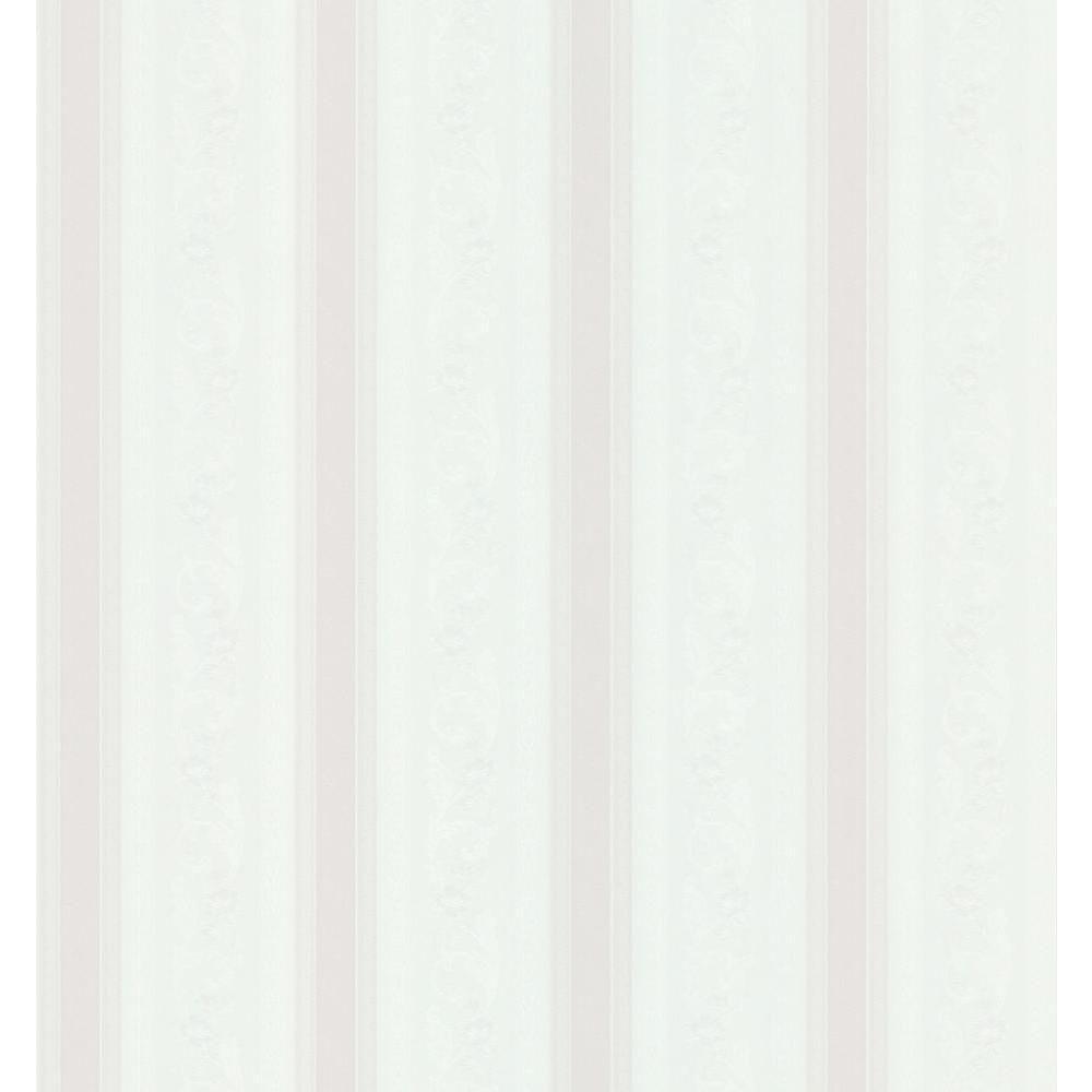 Pomander Scroll Stripe Wallpaper
