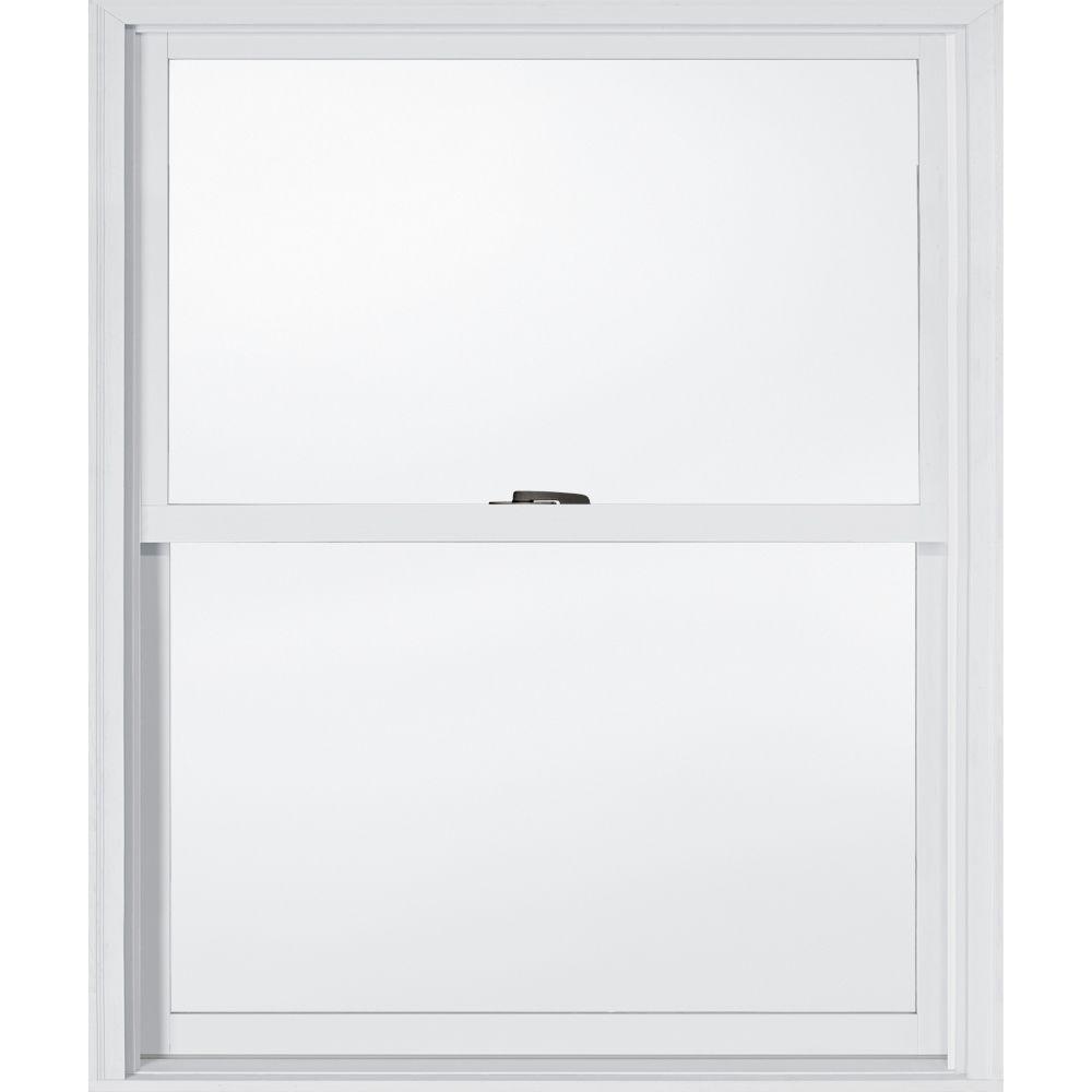 JELD-WEN 33.375 in. x 40.5 in. W-2500 Double Hung Wood Window