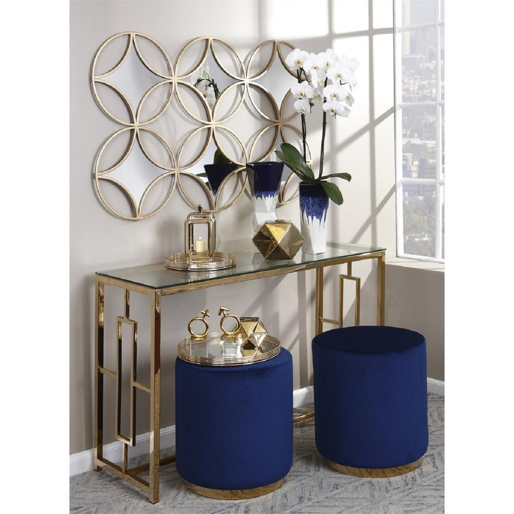 Decorative Gold Finish Small Ceramic Candle Lantern