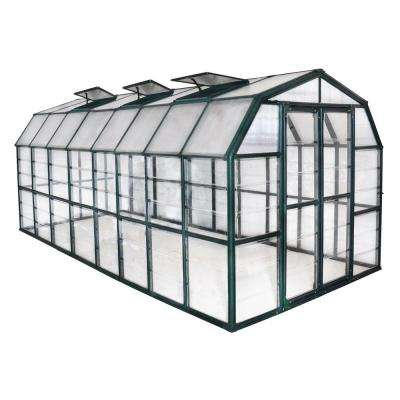 Grand Gardener Clear 8 ft. x 16 ft. Greenhouse