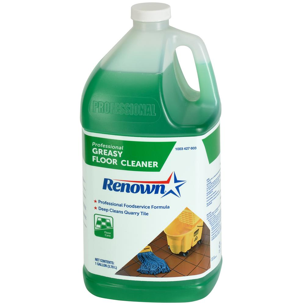 Renown 128 oz. Professional Greasy Floor Cleaner