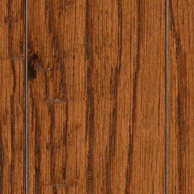 HS Distressed Arleta Oak 3/8 in. T x 3-1/2 in. and 6-1/2 in. W x Varying Length Click Lock Hardwood (26.25 sq.ft/case)