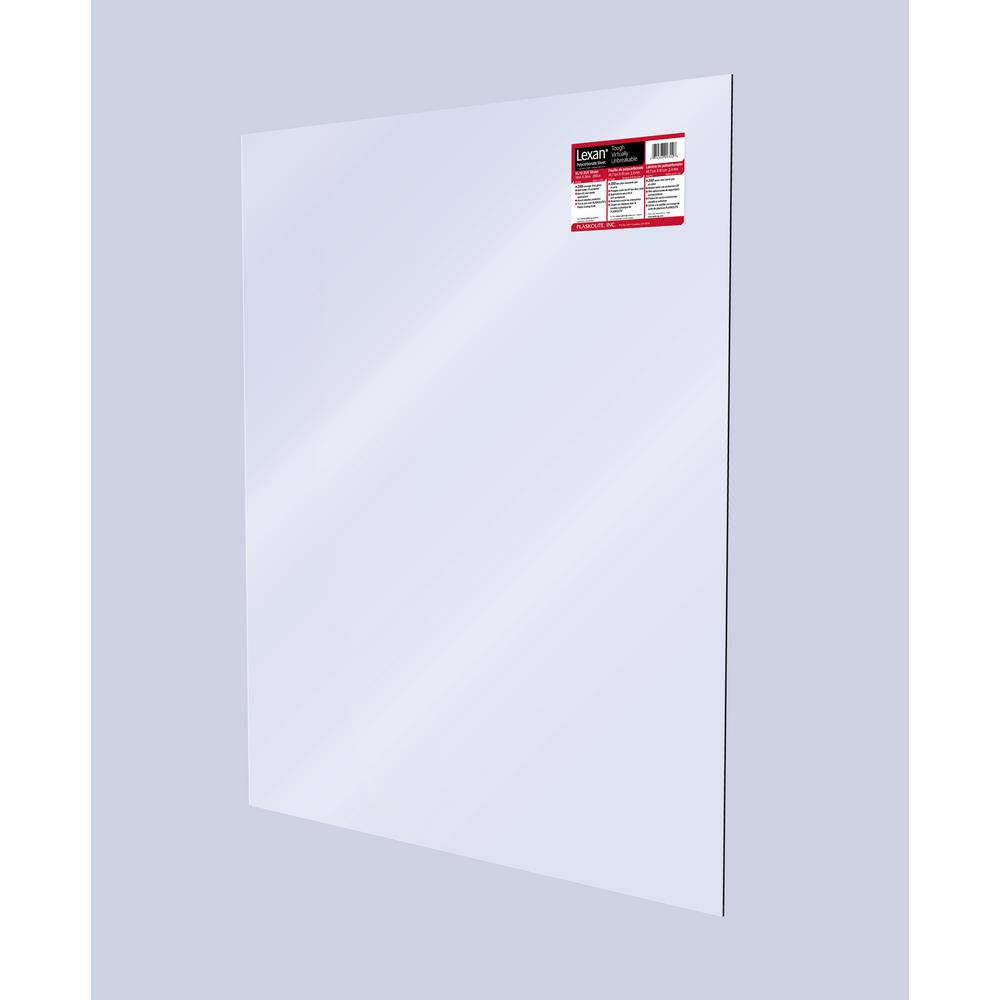 48 in. x 96 in. x .177 in. Clearboard Polycarbonate Sheet