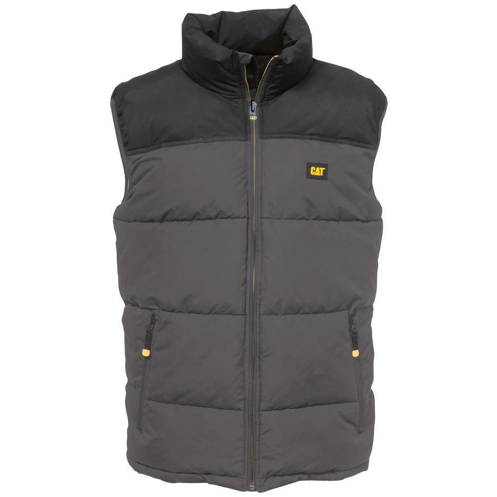 Arctic Zone Men's Large Graphite/Black Polyester Vest