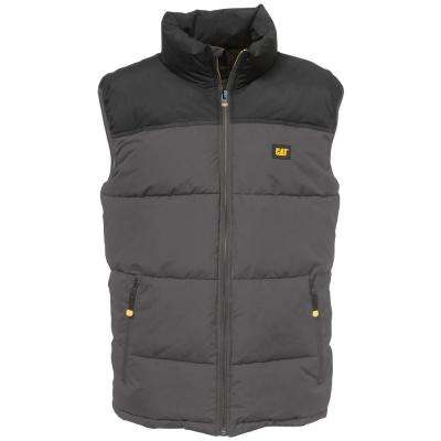 Arctic Zone Men's Small Graphite/Black Polyester Vest