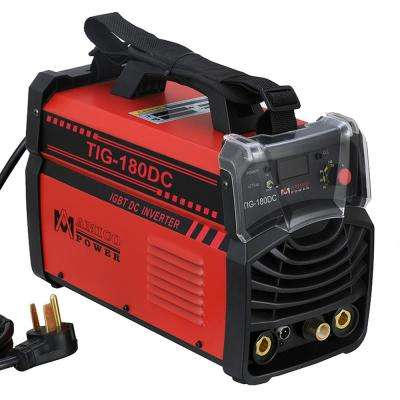 Amico 180 Amp TIG Torch arc Stick DC Inverter Welder 110/230-Volt Dual Voltage Welding Machine