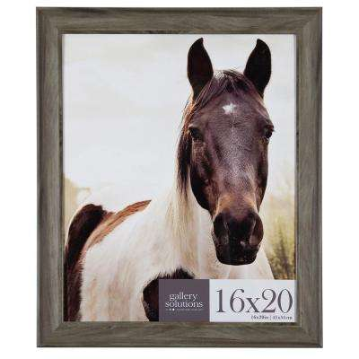 16 in. x 20 in. Graywash Poster Picture Frame