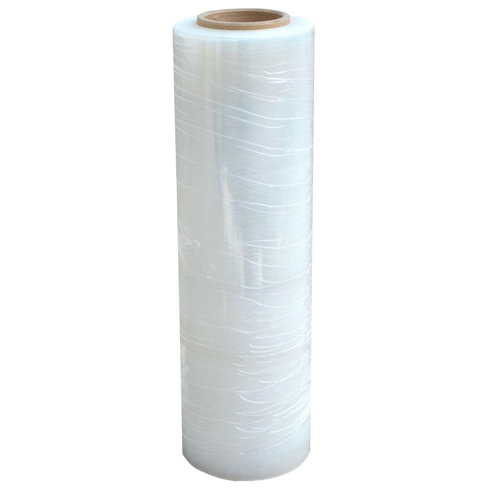 80-Gauge 18 in  x 1500 ft  Stretch Wrap Roll