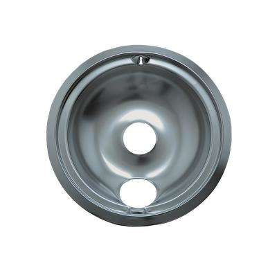 8 in. B Style Drip Pan in Chrome