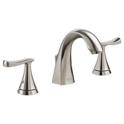 American Standard Bathroom Faucets >> Chatfield 8 In Widespread 2 Handle Bathroom Faucet In Brushed Nickel