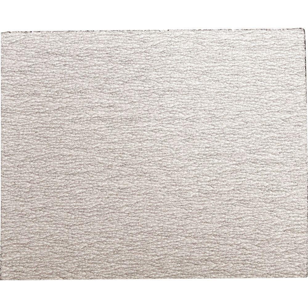 4-1/2 in. x 5-1/2 in. 180-Grit Abrasive Paper (5-Pack)