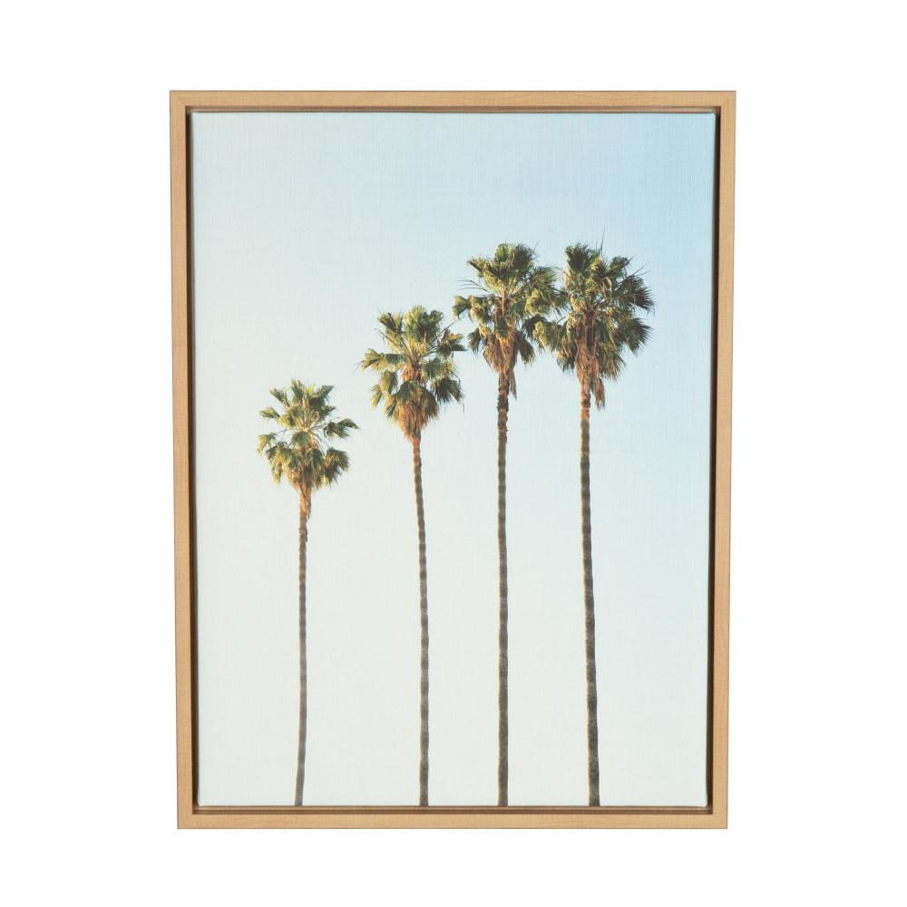 Four Palm Trees By
