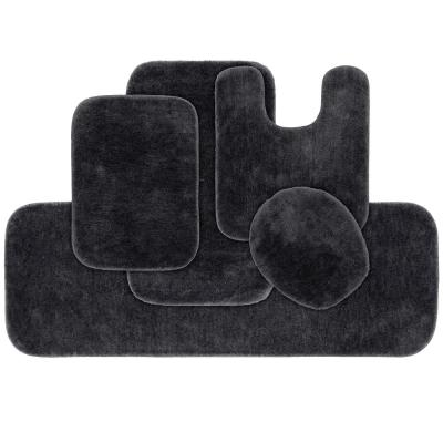 Rubber Backed Bath Mats Bedding