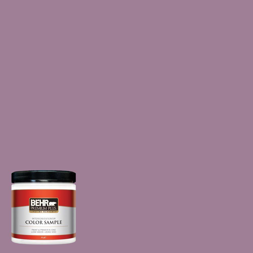 8 oz. #PMD-82 Violet Bouquet Interior/Exterior Paint Sample