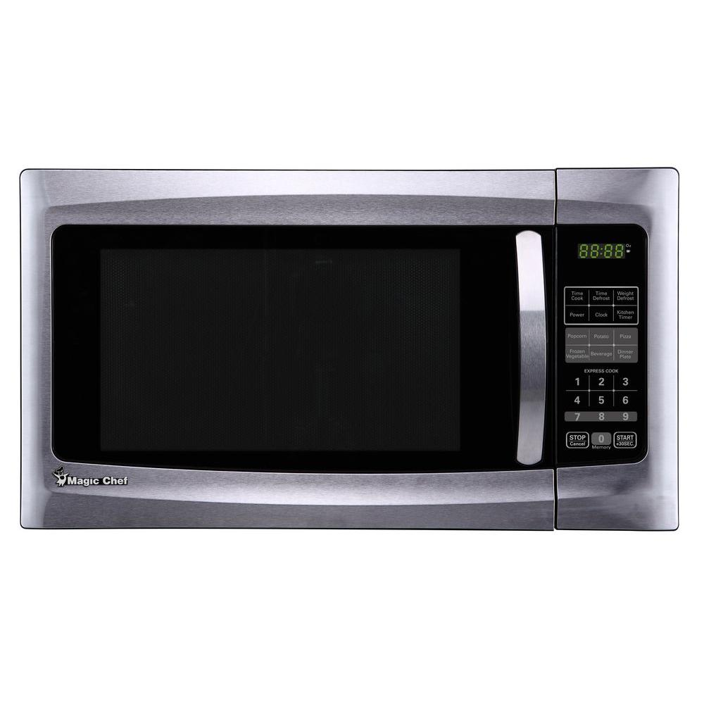 in home stainless depot cu microwave ft microwaves inspirations countertop stunning with steel pictures panasonic