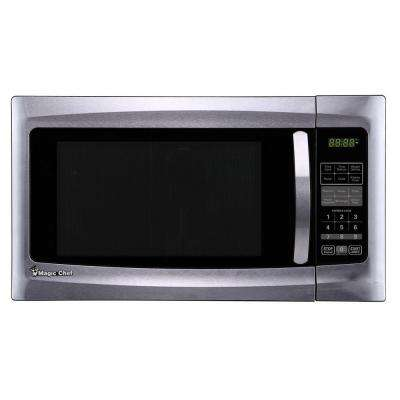1.6 cu. ft. Countertop Microwave in Stainless Steel