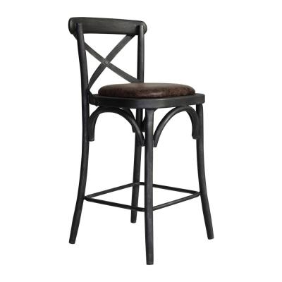 Havey 26 in. Brown Barstool