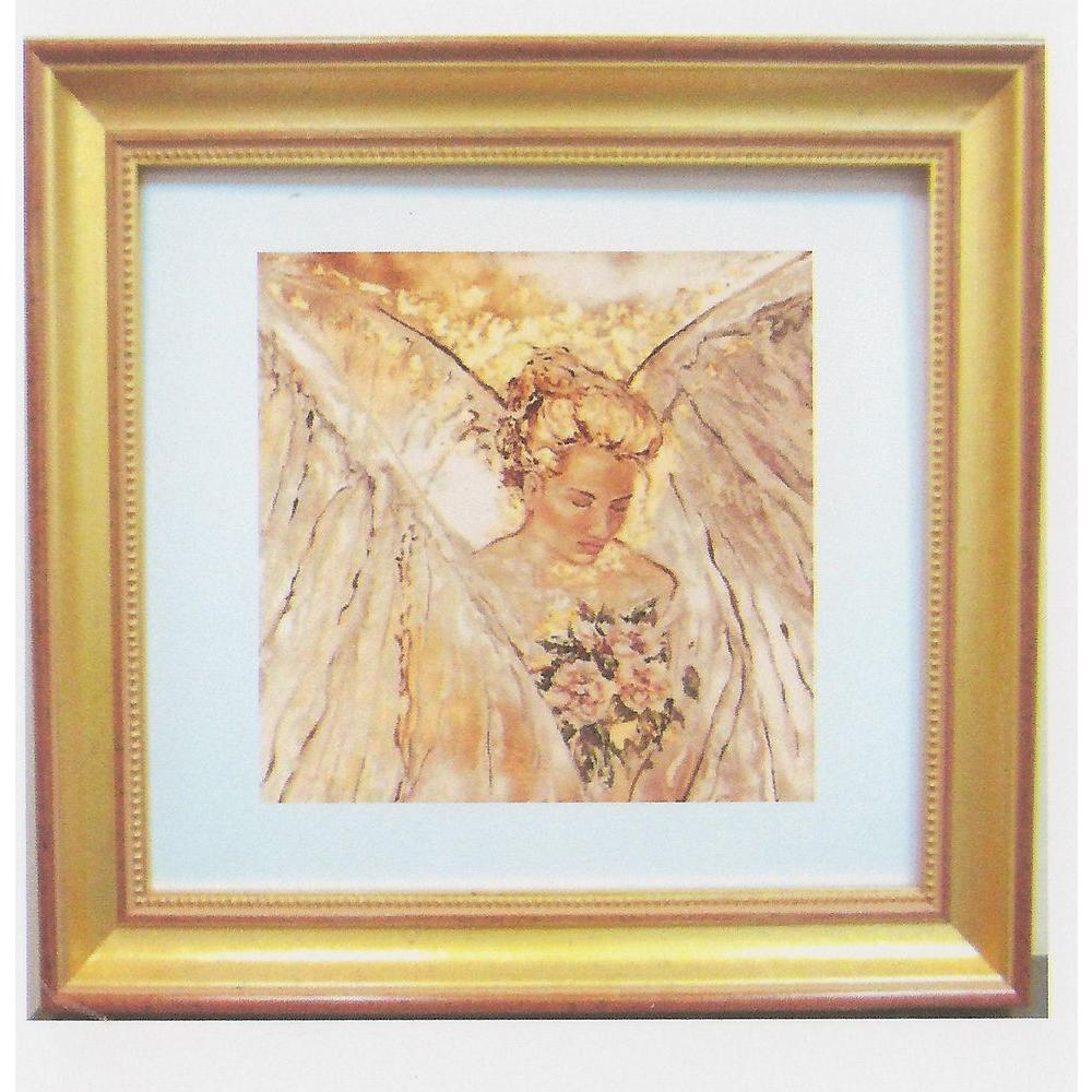 null 30 in. x 30 in. Bridal Wings Art by Tammie Rosen Framed Wall Art