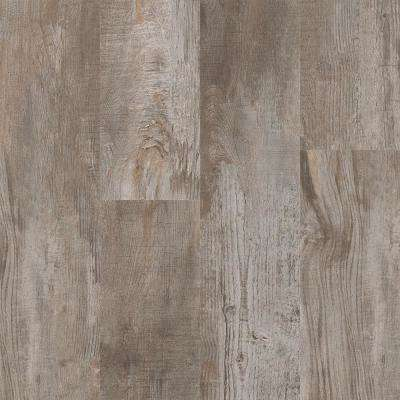 Take Home Sample - Antiquated Restored Wood Warm Grey Click Vinyl Plank - 4 in. x 4 in.