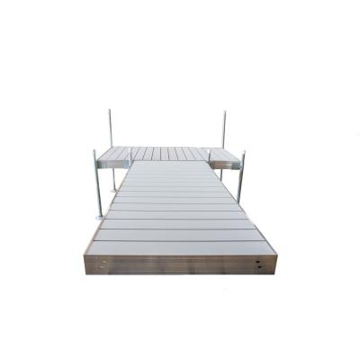 12 ft. T-Style Aluminum Frame with Aluminum Decking Platinum Series Complete Dock Package