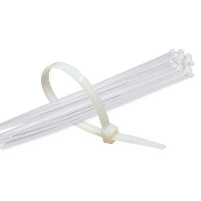 11 in. White Nylon Cable Tie (500-Piece)