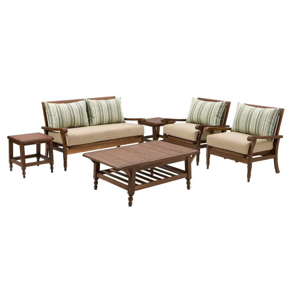 Thomasville Palmetto Estates 6-Piece Patio Seating Set-DISCONTINUED