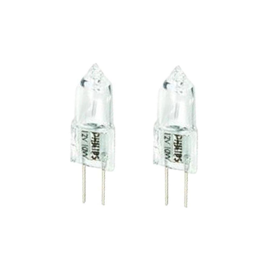 10-Watt T3 Halogen 12-Volt Landscape Light Bulb (2-Pack)