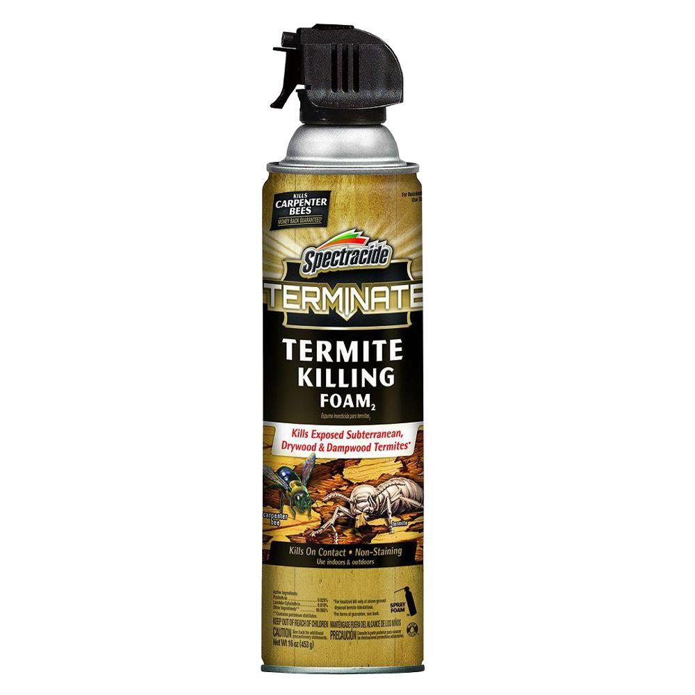 Uncategorized Spray To Kill Termites spectracide terminate 16 oz termite killing foam hg 53370 7 the foam