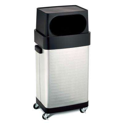 17-Gallon UltraHD Commercial Stainless Steel Trash Bin