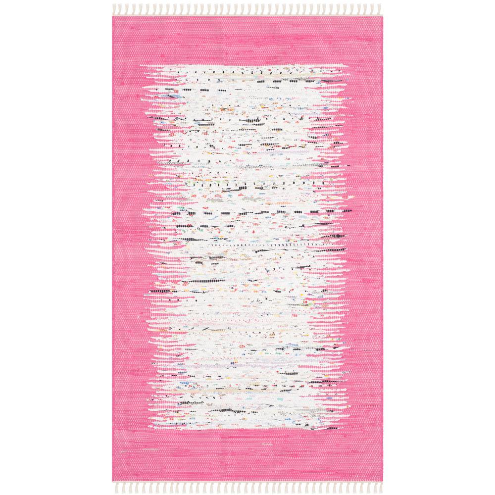 Safavieh Montauk Ivory/Pink 3 ft. x 5 ft. Area Rug