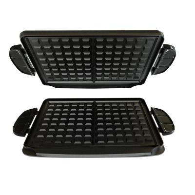 George Foreman Evolve Grill Black Non-Stick Waffle Plates