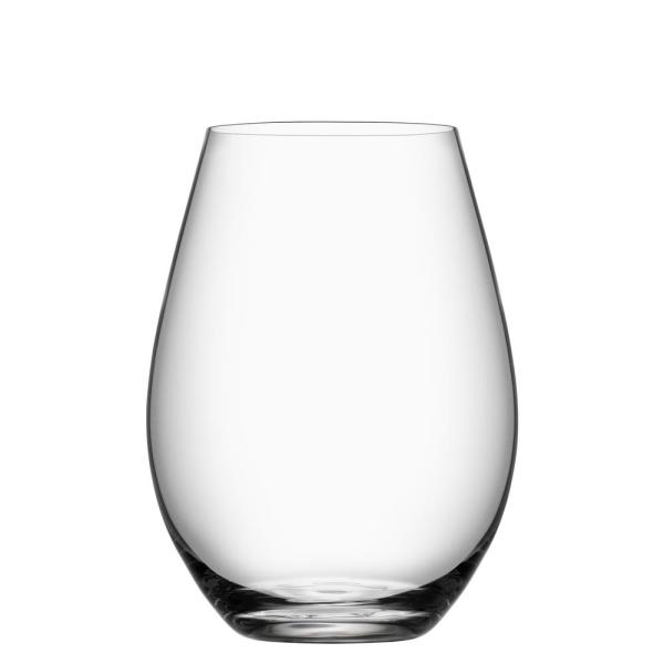 fe36a01f4c2 Orrefors More 13 oz. Stemless Wine Glass (Set of 4) 6310103 - The ...