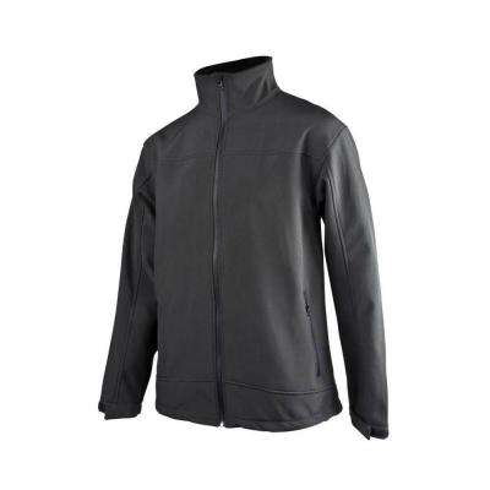 Ladies Large Black Soft Shell Jacket