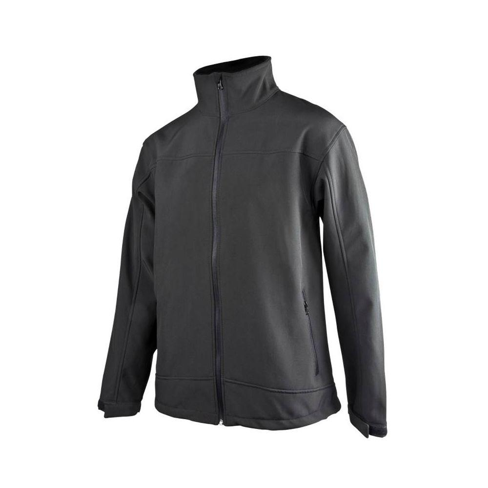 null Men's Large Black Soft Shell Jacket
