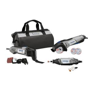 Dremel Ultimate Corded Combo Kit with 15 Accessories and a Carrying Bag (3-Tool) by Dremel