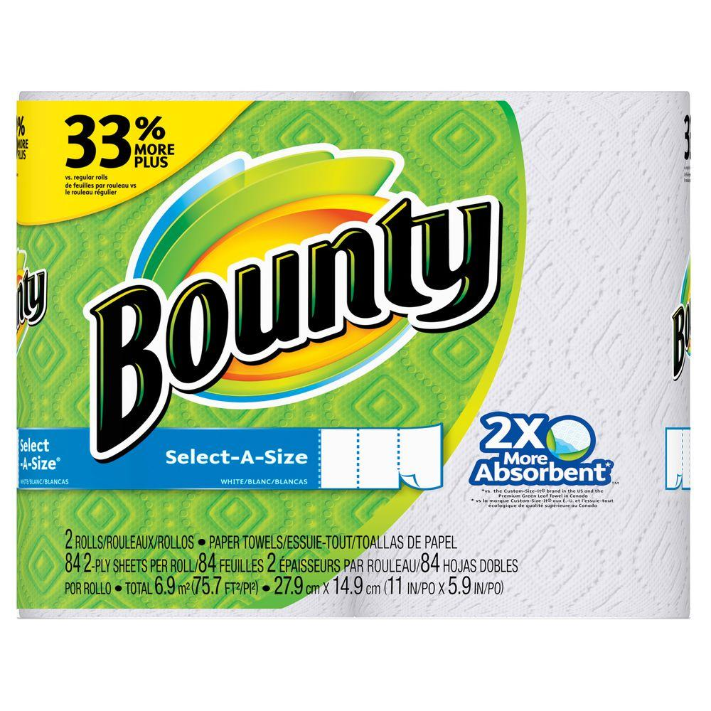 are bounty paper towels recyclable