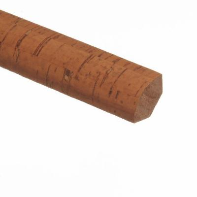 Bombay / Caramel Straw 3/4 in. Thick x 3/4 in. Wide x 94 in. Length Hardwood Quarter Round Molding