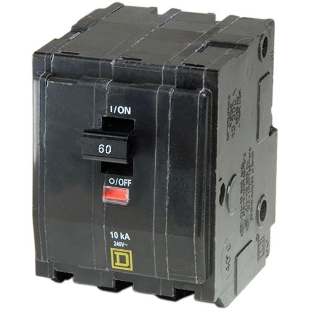Square D QO360 240//208v 3 Pole 60 Amp
