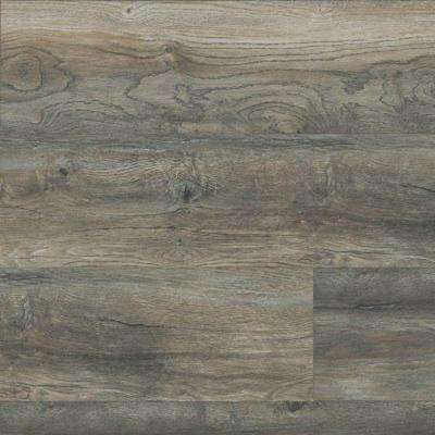 Take Home Sample - Signal Creek Sanibel Driftwood Laminate Flooring - 7-2/5 in. x 10 in.